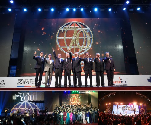 Zuellig Group in Thailand celebrates its 70th Anniversary